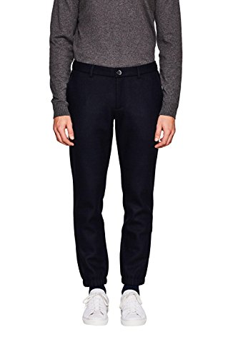 ESPRIT Collection Herren 117EO2B007 Hose, Blau (Navy 400), 54