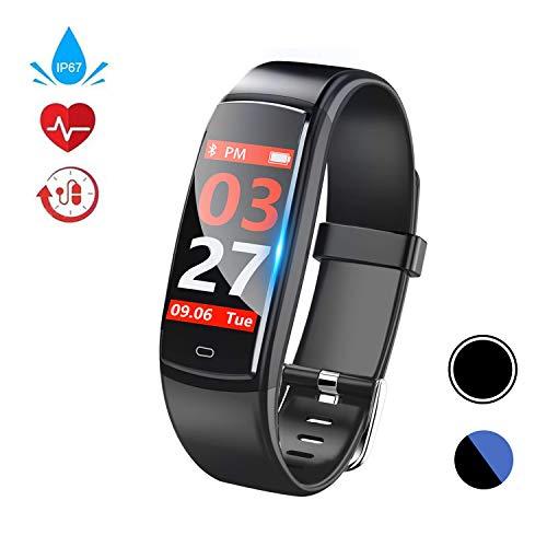 petit un compact Smartwatch avec cardiofréquencemètre, étanche, IP67, mesure de la pression artérielle,…