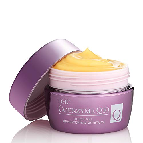 DHC CoQ10 Quick Gel Brightening Moisture, All-in-one Moisturizer, Antioxidants, Hydrating, Collagen-boosting, Fragrance and colorant free, Ideal for all skin types, 3.3 fl. oz.
