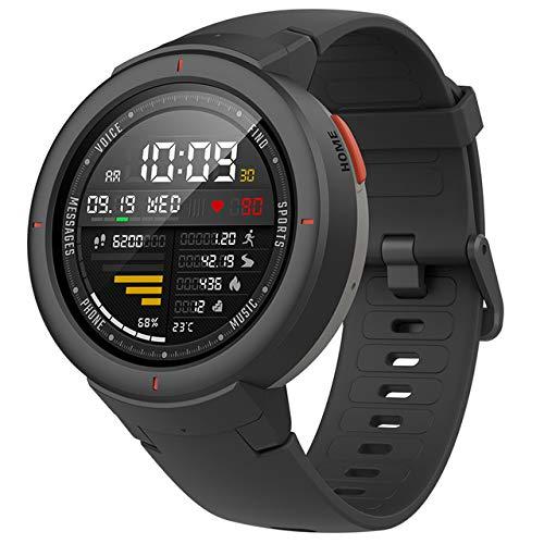 HFJ&YIE&H Rand 3 GPS Smartwatch mit Bluetooth Eingebaut,Den ganzen Tag Gesundheits-Tracker und Aktivitätsverfolgung,5-tägige Akkulaufzeit,AMOLED-Bildschirm Anrufe beantworten,IP68 wasserdicht,A