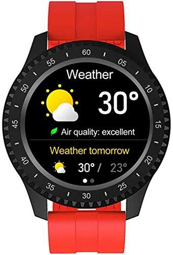 hwbq Reloj inteligente para mujeres hombres Ip68 impermeable 1.54 pantalla a color Bluetooth deporte pulsera inteligente Monitores smartwatches para Android Daily wear-E
