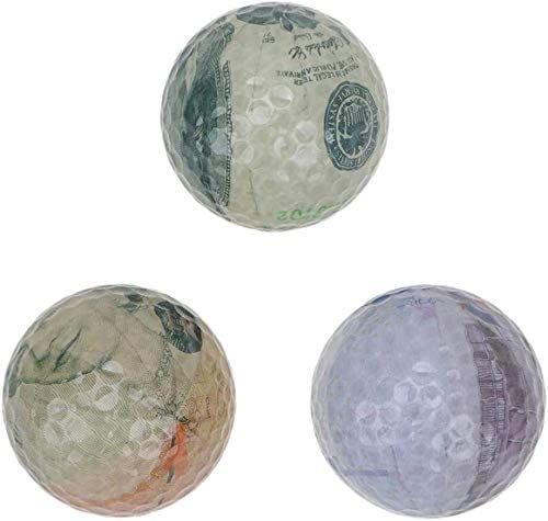 PAOPAOTANG Minneapolis Mall Practice Balls 3Pcs Currency Golf Ball Patte Max 65% OFF