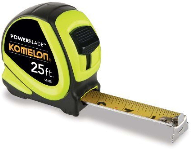 Komelon 51425 25-Foot x 1.06-Inch ABS PowerBlade PowerBlade PowerBlade Tape Measure by Komelon B00PUUEJ0W | Ausgezeichnet  0bd804