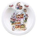 Greg Giordano - Plato térmico de porcelana, diseño de osos de peluche