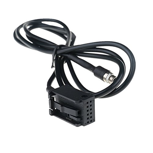 Cavo ada atore o AUX per auto, 3,5 mm, femmina, compatibile con BMW E39, E53, X5, X5, M, Z4, E83, E85, E86, X3, Mini Cooper Pod iP, Android MP3