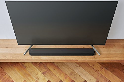 Sony S100F 2.0ch Soundbar with Bass Reflex Speaker, Integrated Tweeter and Bluetooth, (HTS100F), Easy Setup, Compact, Home Office use with Clear Sound,black