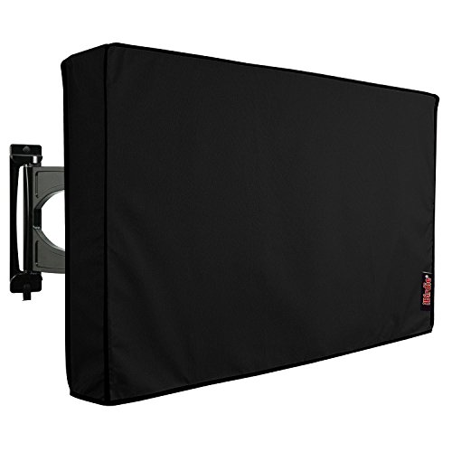 Outdoor Waterproof and Weatherproof TV Cover for 60 to 65 inch Outside Flat Screen TV