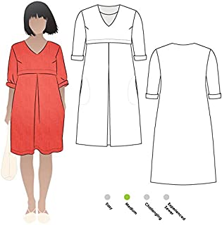 Style Arc Sewing Pattern - Patricia Rose Dress (Sizes 18-30) - Click for Other Sizes Available