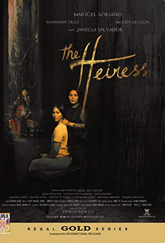 The Heiress - Philippines Filipino Tagalog DVD Movie