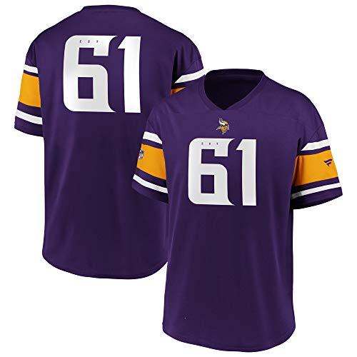 Fanatics NFL Minnesota Vikings Trikot Shirt Iconic Franchise Poly Mesh Supporters Jersey (L)