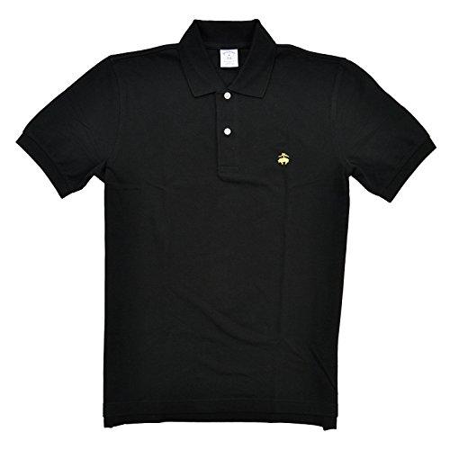 Brooks Brothers Golden Fleece Slim Fit Performance Polo Shirt (M, Black)