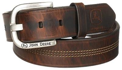 John Deere Men's 35mm Belt,Brown,38