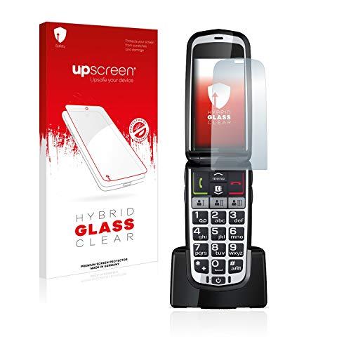 upscreen Hybrid Glass Panzerglas Schutzfolie kompatibel mit Emporia Comfort 9H Panzerglas-Folie