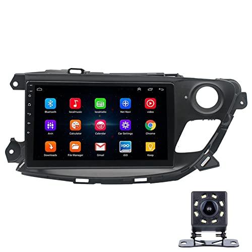 LWYJ Radio Coche para Buick Encore 9 Pulgadas Conexión Android, Bluetooth Reproductor para Coche,con Mirrorlink, Pantalla Táctil, Radio FM/USB, con Camara Trasera,1+16G