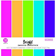 "ColorBok 61308C Smooth Cardstock Paper Pad Bright, 12"" x 12"""