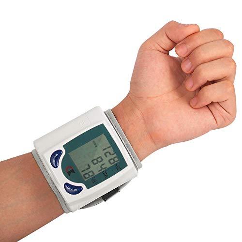 QQW Digitales LCD-Blutdruckmessgerät Für Das Automatische Handgelenk des Haushalts Tragbares Blutdruckmessgerät Blutdruckmessgerät