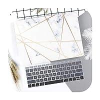 大理石の花柄のラップトップケースキーボードカバー新しいfor MacBook Pro 13 2019 2020 Air 13.3 15インチRetinaタッチバーA2251 A1932-R013-Old Air 13 A1466