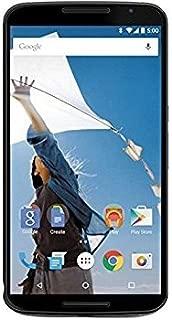 Motorola Nexus 6 Unlocked Cellphone, 64GB, Midnight Blue (U.S. Warranty) (Discontinued by Manufacturer)