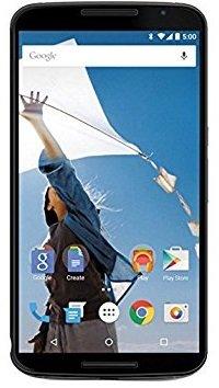 Motorola Nexus 6 GSM Unlocked Smartphone, 64GB, 6' Screen, Dual Front-facing Stereo Speakers - Midnight Blue (International)