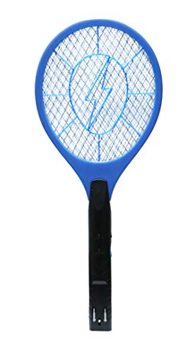 Geep Rechargeable Mosquito Racket Electric Insect Killer (Blue)