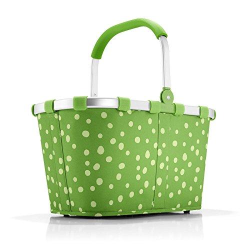 reisenthel carrybag spots green Maße: 48 x 29 x 28 cm/Volumen: 22 l