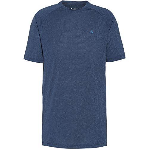 Schöffel Boise2 T-Shirt Homme Dress Blues FR: L (Taille Fabricant: 50)