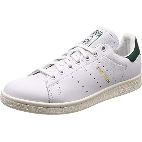 adidas Stan Smith, Scarpe da Fitness Bambino, Bianco (Ftwbla/Ftwbla/Veruni 000), 38 EU