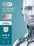 ESET Internet Security 2021 | 3 Geräte | 1 Jahr | Windows (10, 8, 7 und Vista), macOS, Linux und Android | Download