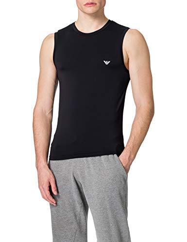 Emporio Armani herr underkläder tank mesh mikrofiber t-shirt