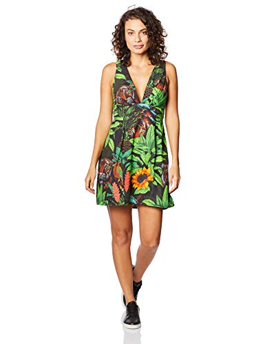 Vestido Curto Estampado, Colcci, Feminino, Multicor, 38