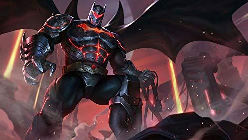FHGGR Fondos De Batman Puzzle 1000 Piezas Adultos Juegos Familiares Regalo Puzzle de Desafío Cerebral para niños Juegos de Habilidades para Toda la Familia 75*50cm