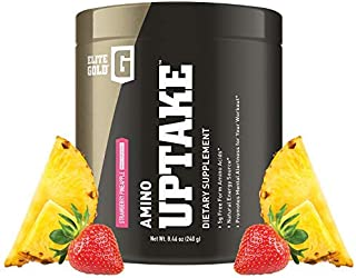 Complete Nutrition Elite Gold Amino Uptake, Strawberry Pineapple, Amino Acid Supplement, Increase Energy, Support Muscle R...