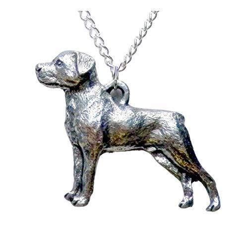 Rottweiler Dog Necklace 1558