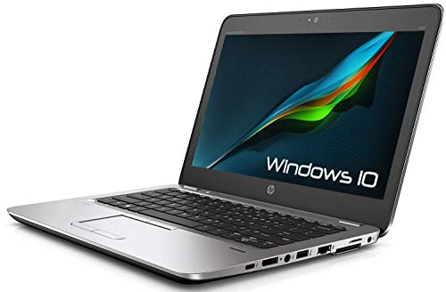 Portátil HP Elitebook 820 G1 Business # 12,5, Intel Core i5 1,9 GHz, 8 GB de RAM, 180 GB SSD, WLAN, USB 3.0, webcam, Windows 10 Professional (reacondicionado) (certificado y reacondicionado)