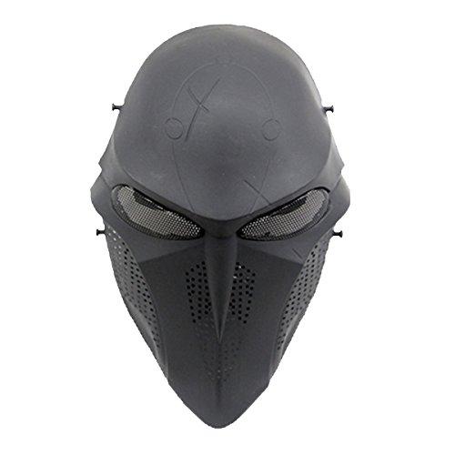 FunPa Cosplay Mask, Halloween Máscara Tactical Airsoft Máscara Protectora Máscara Payaso Máscara para Adultos
