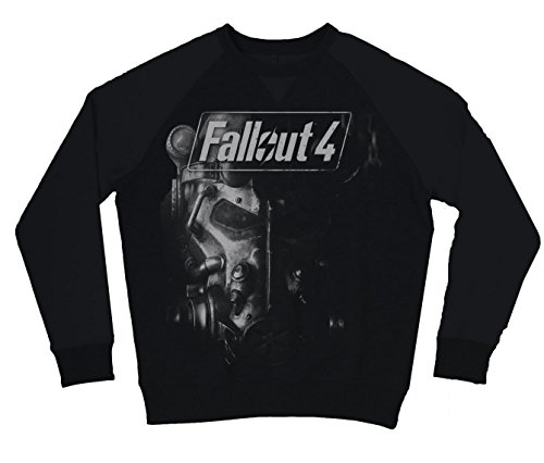 Fallout 4 - Brotherhood Of Steel Pullover nero XXL
