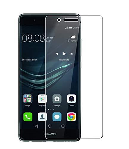 Vetro Temperato Huawei P9, 2 Pezzi WEOFUN Pellicola Protettiva per Huawei P9 Proteggi Schermo 5.2 Pollici (0,33mm, 9H, Alta-trasparente)