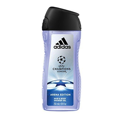 Adidas–Gel de ducha 3en 1UEFA, Arena Edition,250ml