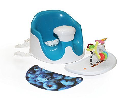 Prince Lion Heart BebePOD Chubs Plus Baby Sitter and Booster Seat, Berry Blue