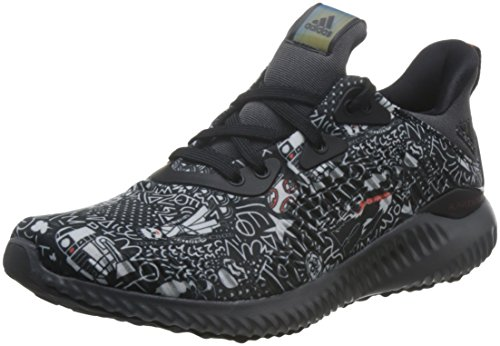 adidas Alphabounce Starwars J, Zapatillas de Deporte Unisex Adulto, Negro (Negro-(Negbas/Gricin/ROJBAS), 37 1/3 EU
