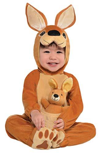 Amscan Dress Up - Disfraz de bebé Canguro, 0–6meses