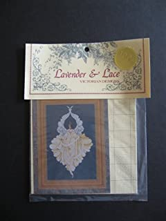 Lavender and Lace Peace Angel Cross Stitch Pattern Victorian Designs