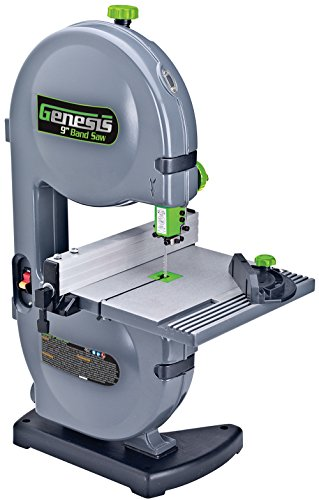 Genesis GBS900 9' 2.2 Amp Band Saw with Dust Port, Tilt...