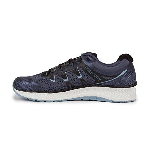 Saucony Men's Triumph 13 Running Shoe, Grey/Black, 7 Medium US