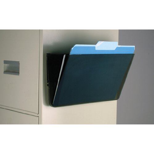 Officemate Magnetic Wall File Letter Size, Smoke (21451)