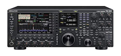 of kenwood ham radios Kenwood TS-990S HF/50 Base Transceiver 200 Watt Equipped with Dual Receivers Kenwood Original