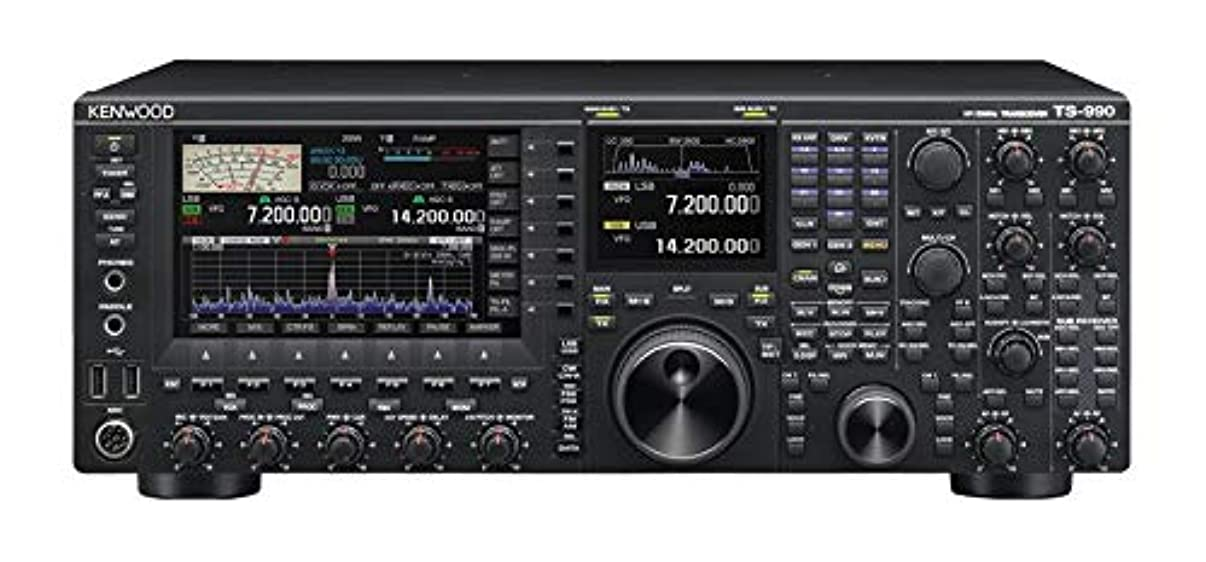 Kenwood TS-990S HF/50 Base Transceiver 200 Watt Equipped with Dual Receivers Kenwood Original