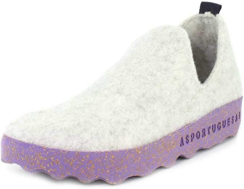ASPORTUGUESASA018003 - City Tweed Slip aufziehen Damen, (Cremefarben), (Cremefarben), 37 M EU  bis zu 50% sparen