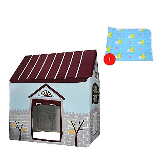 Why Should You Buy Mogicry Kids Tent Big Space Game House Baby House Castle Boy Girl Cotton Canvas f...
