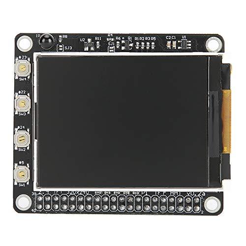Hopcd 2.4‑inch LCD Touching Screen 320 x 240 Resolution Mini LCD TFT Display Screen for Raspberry Pi 4B / 3B / 2B + / A +